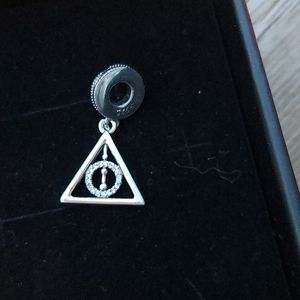 925 Silver Harry Potter Deathly Hallows Charm